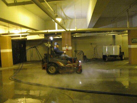commercial power washing atlanta